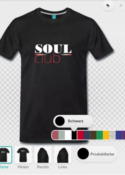 herren t-shirt soulclub
