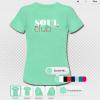 damen T-shirts soulclub