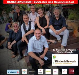 Benefizkonzert SOULclub Salzburg Mark